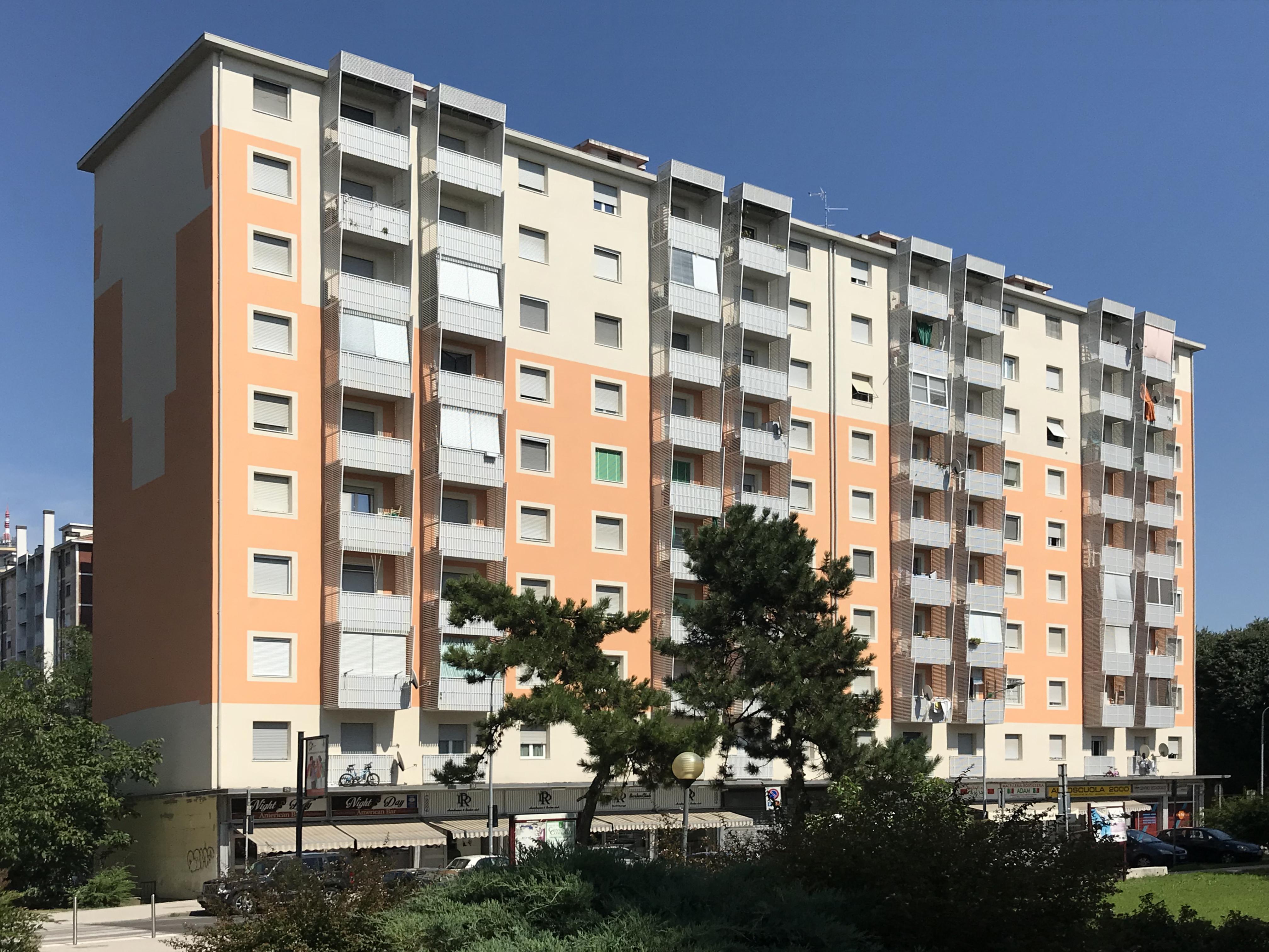 Manutenzione Straordinaria edifici in Via Mandorli a Rozzano – SERGIO AGAPE